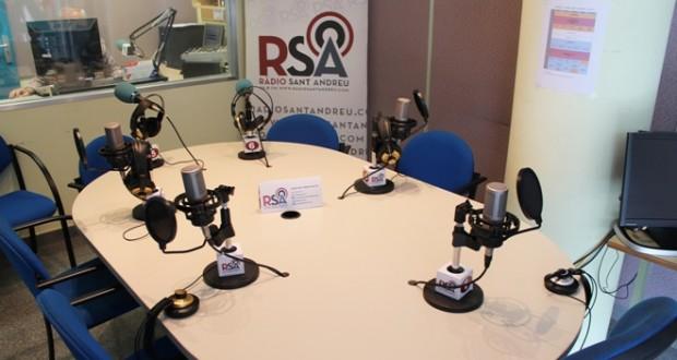 Ràdio Sant Andreu 04- Estudi central
