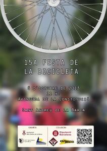 cartell festa bici