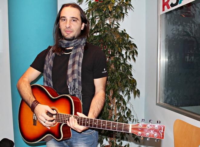 Fabio Canu a Ràdio Sant Andreu
