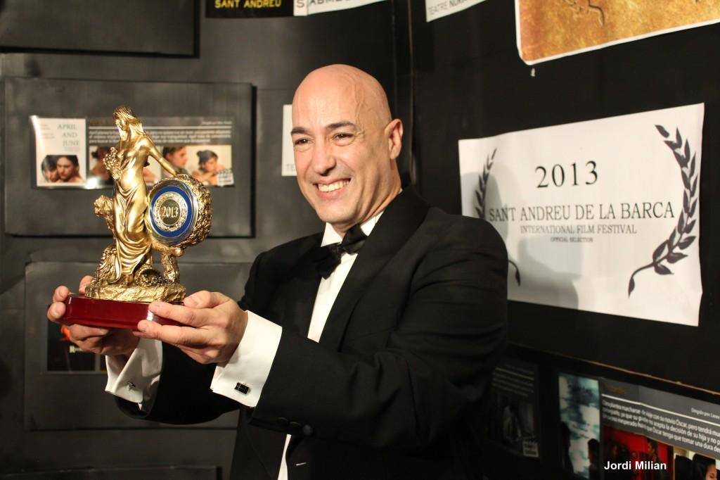Felipe del Val presentador i organitzador de la gala