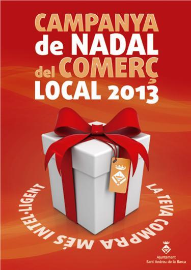 Cartell campanya comerç local 2013
