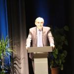 Enric Llorca durant el discurs inaugural