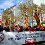 Manisfestació Barcelona  24 novembre 2013