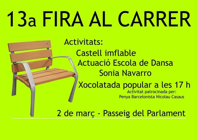 CARTELL 13 FIRA