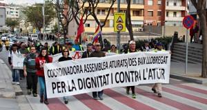 Marxa Aturats Baix Llobregat a Sant andreu de la Barca 09