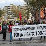 Marxa Aturats Baix Llobregat a Sant andreu de la Barca