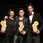 70-Festival La Voz de  Oro -Els tres guanyadors de la nit