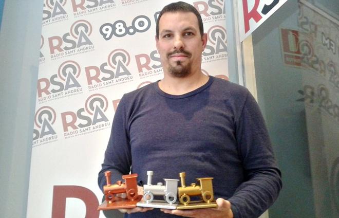 David Tercero Campionat Aventureros al tren