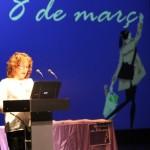 Dia de les dones 2014 03 Maite Ortega, regidora Igualtat