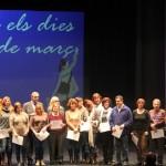 Dia de les dones 2014 09 Lliurament diplomes informàtica