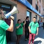 Manifestació PAH a Sant Andreu