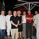 XV CERTAMEN LITERARI SAB - Foto final amb guanyadors i jurat