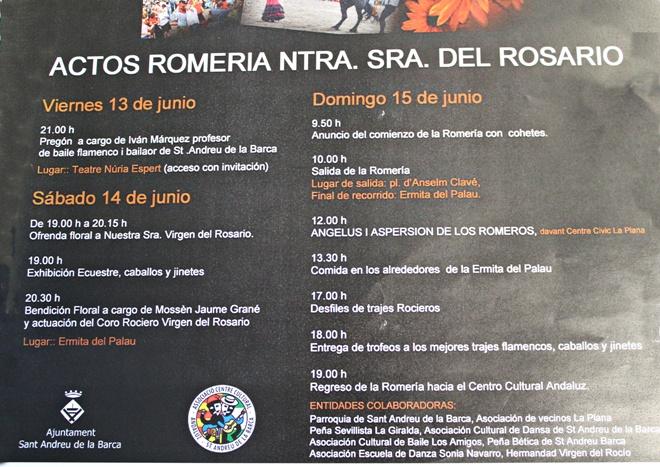 actes romeria