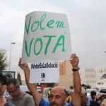 Concentració 9N a Sant Andreu de la Barca -04