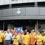 Concentració 9N a Sant Andreu de la Barca -06