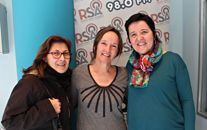 alumnes servei local catala Isabel Herrera i Candelaria Granados