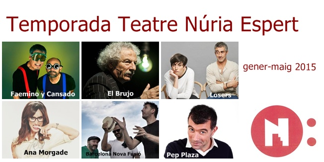 Temporada Teatre 2015