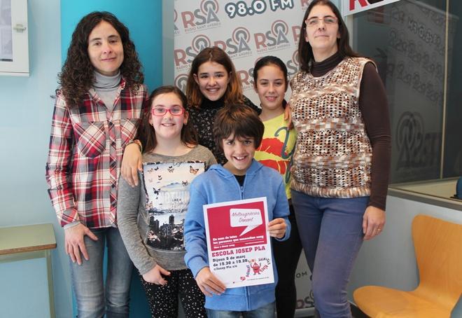 Escola Josep Pla donació de sang