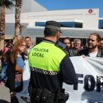 Manifestació contra el feixisme i el racisme a Sant Andreu de la Barca  02