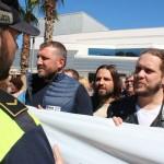 Manifestació contra el feixisme i el racisme a Sant Andreu de la Barca  03