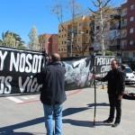 Manifestació contra el feixisme i el racisme a Sant Andreu de la Barca  06