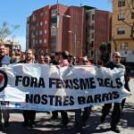 Manifestació contra el feixisme i el racisme a Sant Andreu de la Barca  08
