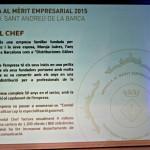 Medalles Mèrit Empresarial 2015 - 05 Condal Chef