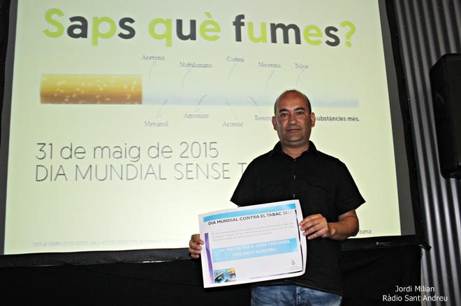 Sorteig Campanya Tabac 2015 - Antonio Gallego