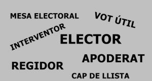 VOCABULARI ELECTORAL
