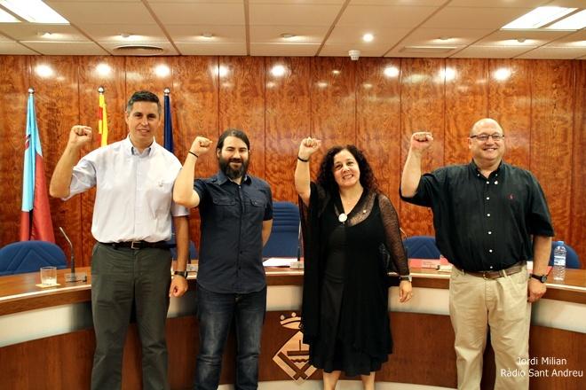 Acte constitució Ajuntament SAB 2015 -SI ES POT SI SE PUEDE