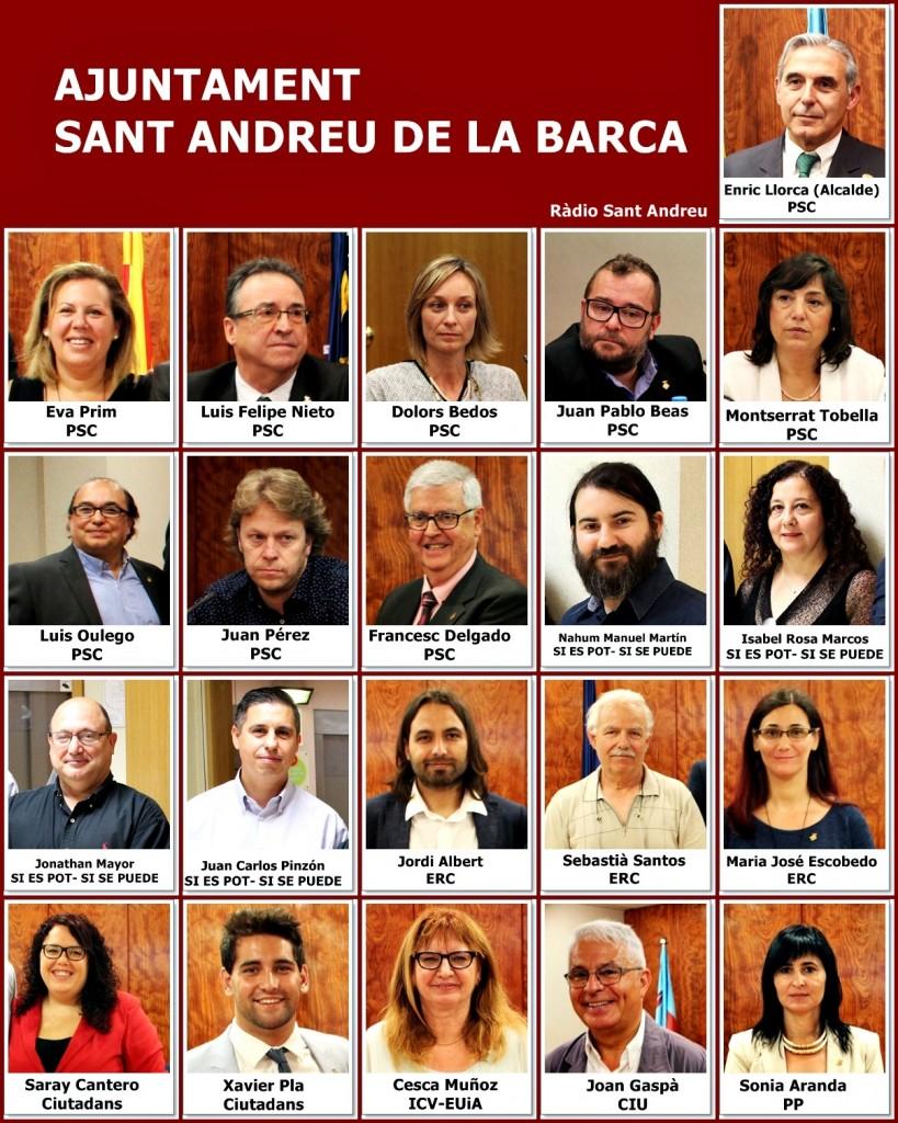 regidors ajuntament SAB 2015-2019
