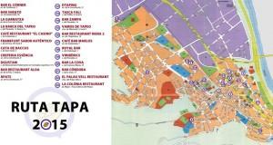 Mapa ruta de la tapa 2015
