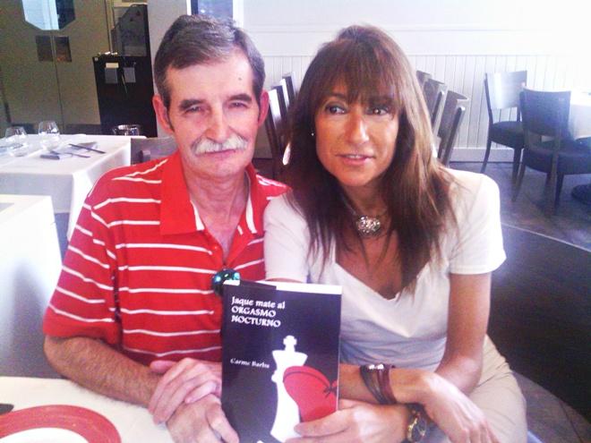 Carme Barba amb la novela Jaque mate al orgasmo nocturno