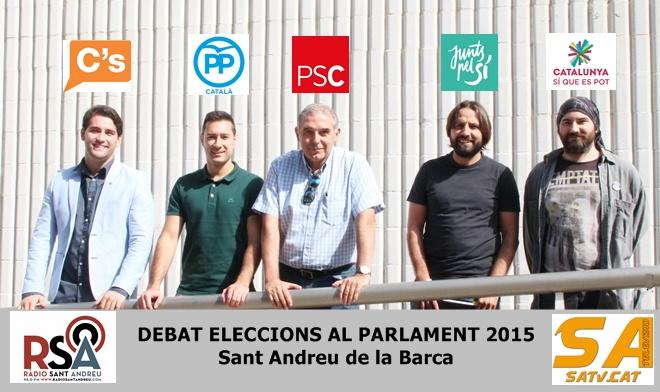 Debat Eleccions al Parlament 2015 SAB