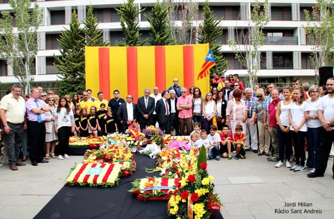 Diada a Sant Andreu de la Barca 2015