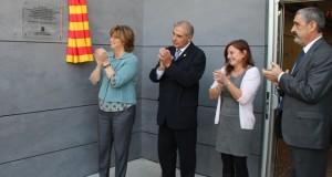 Inauguració remodelació Àngel Guimerà  - 01