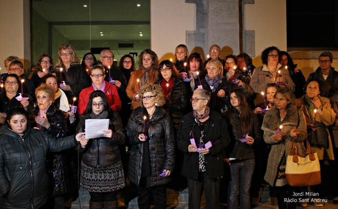 Acte dia eliminacio violència vers les dones SAB