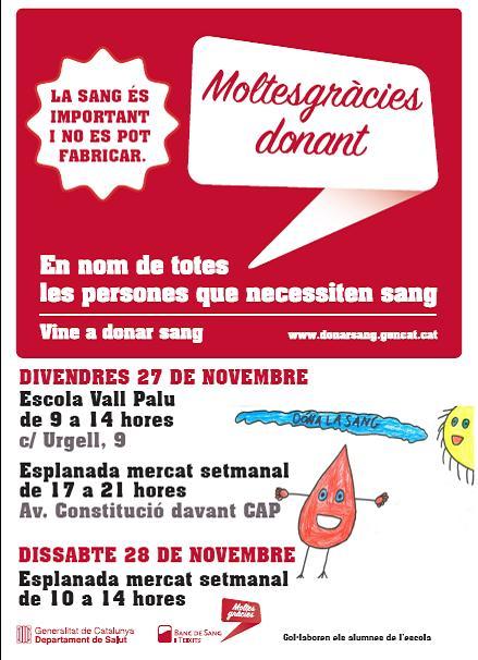 campanya donacio sang novembre 2015