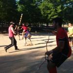 Vols practicar el jugger i el softcombat a Sant Andreu de la Barca?