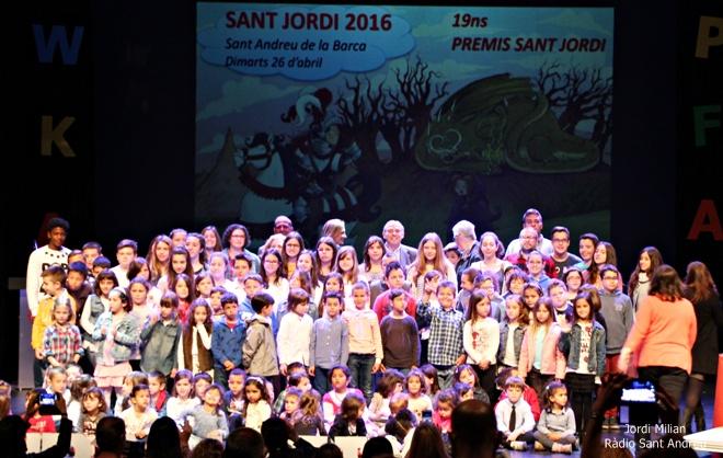 Premis Sant Jordi a les Escoles 2016 -01