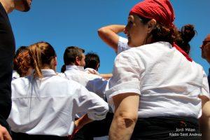 Actuació Colla castellera de l'Adroc  04
