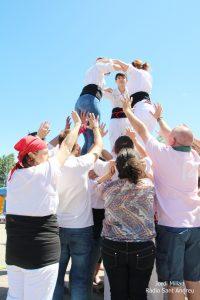 Actuació Colla castellera de l'Adroc  05