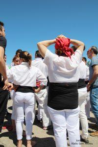 Actuació Colla castellera de l'Adroc  06