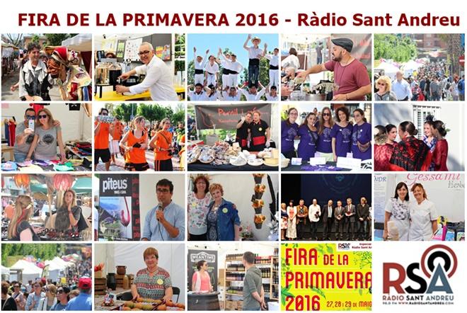 FIRA DE LA PRIMAVERA 2016