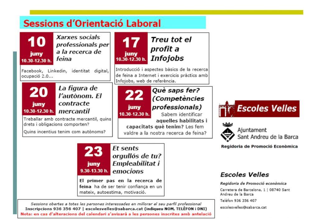 sessions grupals orientacio laboral juny