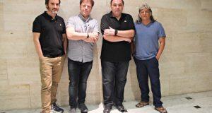 Antoni Planelles, José Luis Gracia Herrera, Ángel Fabregat i    Joan Carles Gonzalez