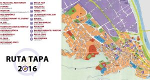Mapa RUTA TAPA 2016
