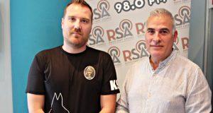 Policia Local Javier Gomez i Jordi Bernat