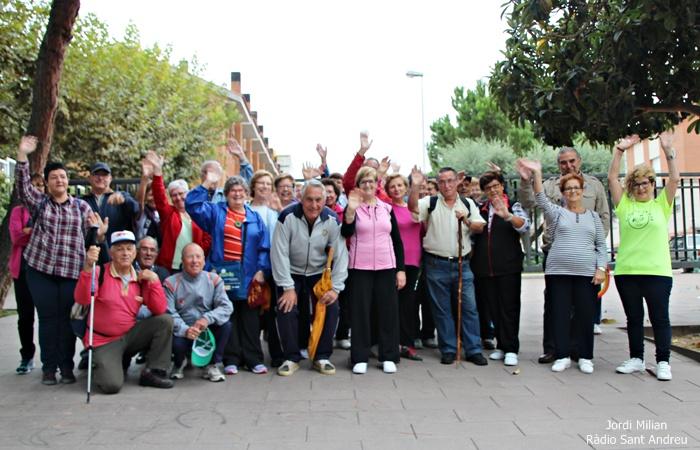 18a Marxa Gent Gran Sant Andreu Barca