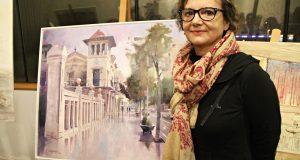 18è Concurs Pintura Ràpida Sant Anderu Barca - 01 Mercè Humedas guanyadora